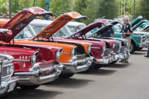 The Rose Free Library will be at the Fireman's Car Show on June 12th